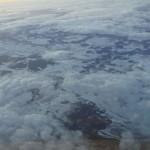 Verschneites Süddeutschland